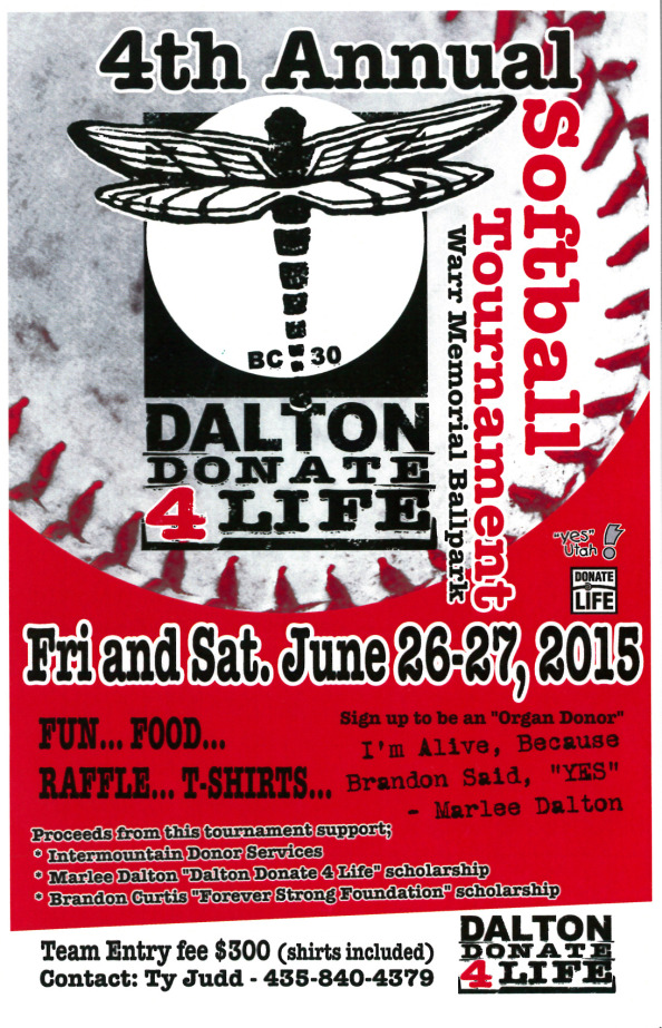 dalton-donate-4-life-softball-tournament